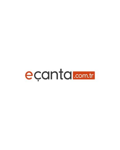 Benetton Mor Logolu Sırt Çantası 95173 Pembe