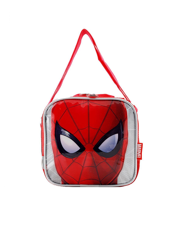 Spider-Man Kabartmalı Beslenme Çantası 95327 Kırmızı