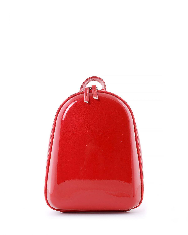 Jacquline Parlak Kadın Sırt Çantası IM100 Kırmızı