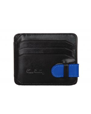 Pierre Cardin Kemerli Erkek Kartlık 0510 Siyah- Saks Mavi