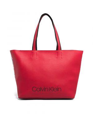 Calvin Klein Collegic Kadın Çantası K60K604457 Kırmızı