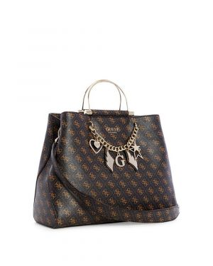 Guess Shopper Tote Kadın Çantası SG717925 Brown