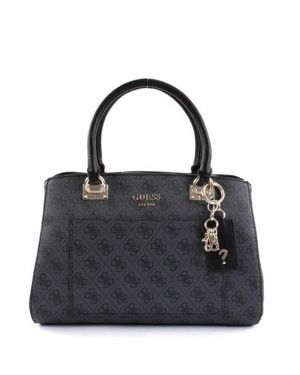 Guess Kathryn Girlfriend Satchel Kadın El Çantası SG717406 Coal