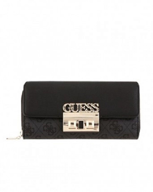 Guess Luxe Logo Kadın Cüzdanı SG710262 Coal