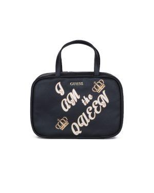 Guess Beauty Case Donna Makyaj Çantası Pwbequp8413 PWBEQUP8416 Black