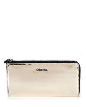 Calvin Klein Portfel Instant Kadın Cüzdanı K60K604236 Altın