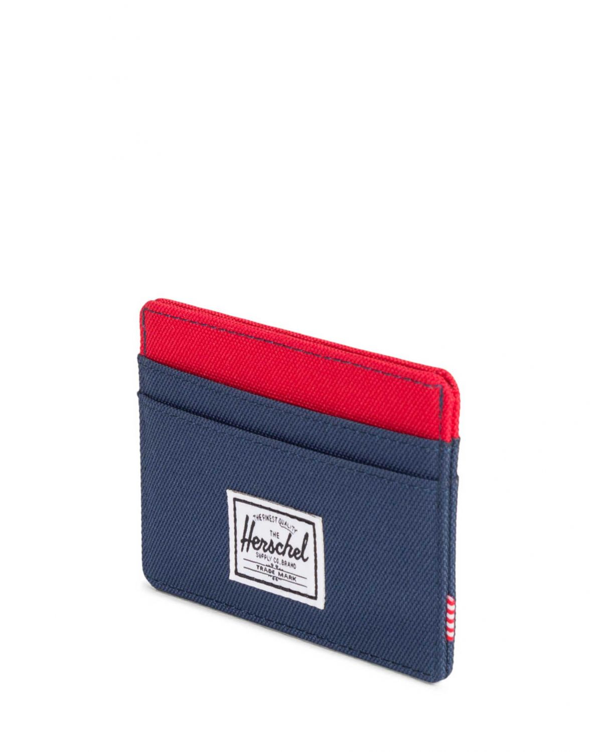 Herschel Charlie Rfid Co Kartlık 10360 Navy/Red/Woodland Camo